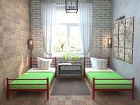 Кровать кованая Милана мини Plus