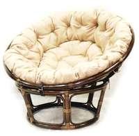 Кресло из ротанга Papasan + подушка ЭкоДизайн