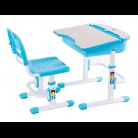 Растущая парта и стул FunDesk Capri Blue
