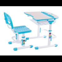 Растущая парта и стульчик FunDesk Colore Blue