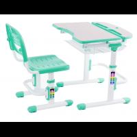 Парта и стул-трансформеры для детей FunDesk Colore Green