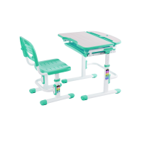 Парта-растишка и стул-трансформер FunDesk Cura Green