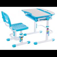 Детская парта-трансформер и удобный стул FunDesk Cura Blue