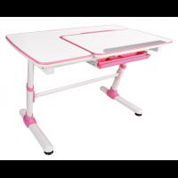 Растущий стол для школьника купить FunDesk Invito Pink