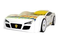 Кровать-машина R2 белая