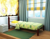 Кровать кованая Милана мини Lux