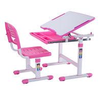 Детская парта и стул для дома FunDesk Piccolino Pink