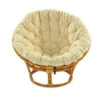 Кресло из ротанга Papasan 23/01+ подушка