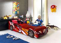 Детская кровать Гоночная машинка №5