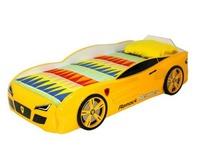 Кровать-машина R2 желтая
