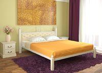 Кровать кованая Диана (мягкая)