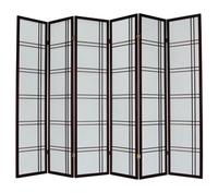 Ширма 359-6 6 панелей махагон