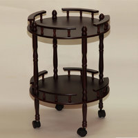 Столик сервировочный на колесиках 46-618