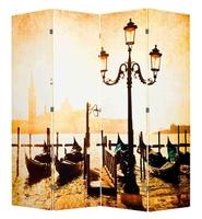 Ширма 1201-4 Набережная Венеции 4 панели