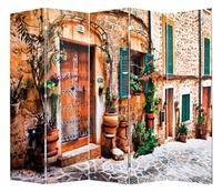 Ширма 1203-5 Уютный дворик 5 панелей