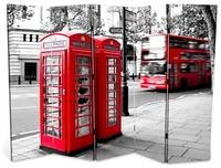 Ширма 1608-5 Телефонная будка 5 панелей