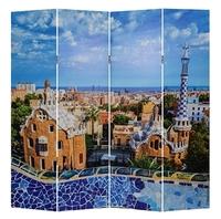 Ширма 1405-4 Барселона 4 панели