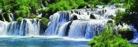 Фартук Водопады Хорватии