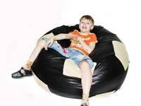 Кресло-мешок Футбольный мяч - искусственная кожа