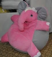 Кресло-мешок Розовый слоник