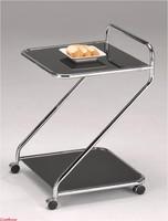 Столик сервировочный на колесиках SC-5103 BK
