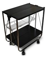 Столик сервировочный складной на колесиках 45 014