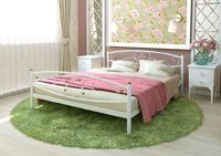 Кровать кованая Каролина Plus