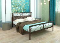 Кровать кованая Эсмеральда Plus (мягкая)