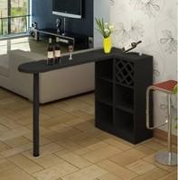 Барный стол № 1 черный