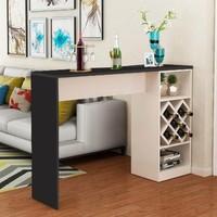 Барный стол № 4, черно-белый