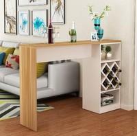Барный стол № 4, орех Мармара-белый
