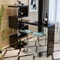 Барный стол № 5 черный