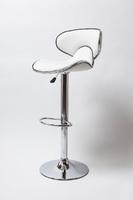 Барный стул BN 1008-3D белый и черный