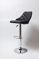 Барный стул BN-1148 белый и черный