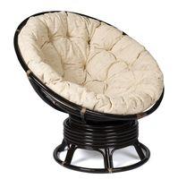 Кресло из ротанга Papasan 23/01B+ подушка