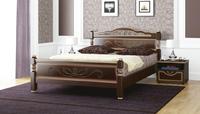 Кровать Карина 5 Bravo 90/120/140/160х200 орех темный