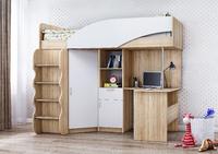 Детская Д-1 кровать чердак