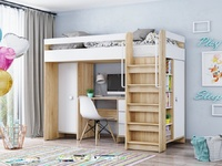 Детская Д-3 кровать чердак