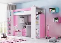 Детская Д-4 кровать чердак