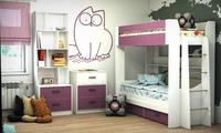 Детская комната Color с двухъярусной кроватью