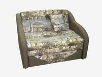 Детский диван Джерри 2 цвет Париж 7717.2 + коричневая ткань