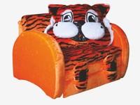 Детский диван Тигр, Мех тигр мех оранжевый