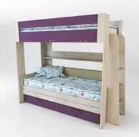 Двухъярусная кровать Спутник 4 Color