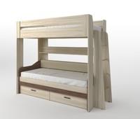 Двухъярусная кровать Спутник 4