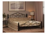Кровать ГАРДА 3 черная (160*200)