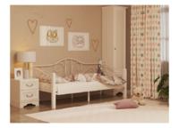 Кровать ГАРДА 7 белая (90*200)