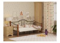 Кровать ГАРДА 7 ЧЕРНАЯ (90*200)