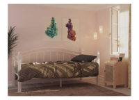 Кровать ГАРДА 8 ЧЕРНАЯ (90*200)