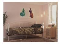 Кровать ГАРДА 8  белая (90*200)