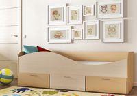 Кровать КР-3 с ящиками выдвижными на колесиках